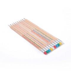Crayons à papier des 5 continents