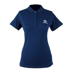 Polo femme Navy